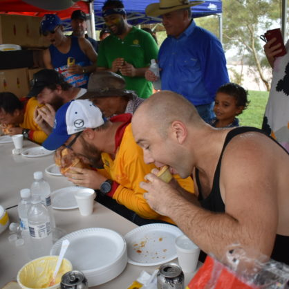 Pie Eating Contest Lake Mary Ann