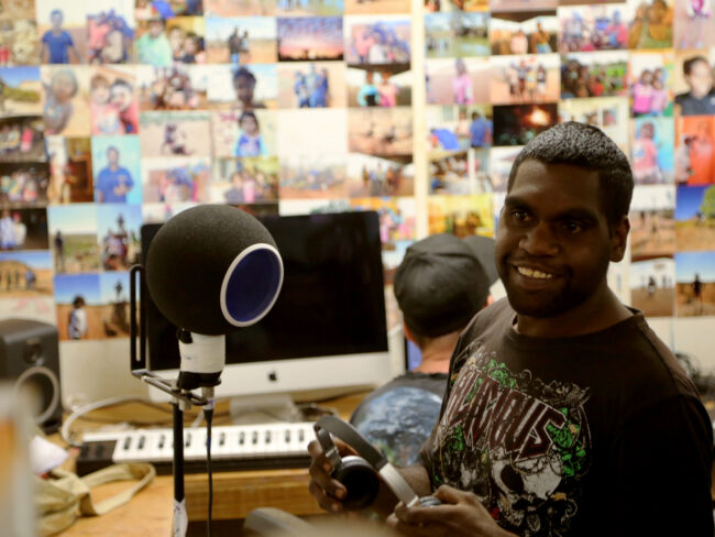 Ampilatwatja Music Session With Richard Peterson And Monkey Marc