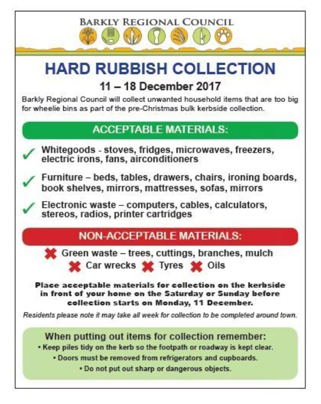 Rubbish Collection December2017